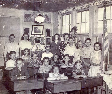 Boston, NY School House 1947