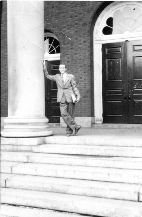 Robert Heichberger at Buffalo State 1947